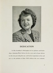 Page 7, 1949 Edition, Straubenmuller Textile High School - Loom Yearbook (New York, NY) online yearbook collection