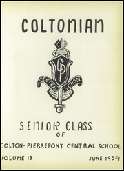 Page 5, 1954 Edition, Colton Pierrepont High School - Coltonian Yearbook (Colton, NY) online yearbook collection