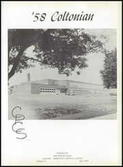 Page 5, 1958 Edition, Colton Pierrepont High School - Coltonian Yearbook (Colton, NY) online yearbook collection