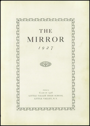 Page 9, 1927 Edition, Little Valley High School - Mirror Yearbook (Little Valley, NY) online yearbook collection
