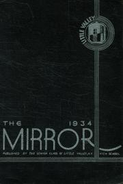 1934 Edition, Little Valley High School - Mirror Yearbook (Little Valley, NY)
