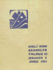 Page 4, 1931 Edition, Girls High School of Brooklyn - Blue and Gold Yearbook (Brooklyn, NY) online yearbook collection
