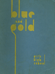 1937 Edition, Girls High School of Brooklyn - Blue and Gold Yearbook (Brooklyn, NY)