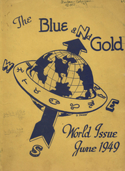 1949 Edition, Girls High School of Brooklyn - Blue and Gold Yearbook (Brooklyn, NY)