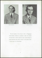 Page 7, 1950 Edition, Wappingers Central High School - Portico Yearbook (Wappingers Falls, NY) online yearbook collection