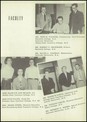 Page 11, 1955 Edition, Unadilla Central High School - Unadillan Yearbook (Unadilla, NY) online yearbook collection