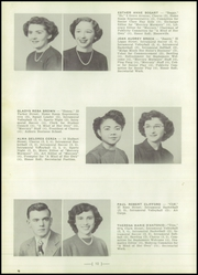 Page 14, 1951 Edition, Central High School - Mercury Yearbook (Auburn, NY) online yearbook collection