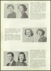 Page 16, 1951 Edition, Central High School - Mercury Yearbook (Auburn, NY) online yearbook collection