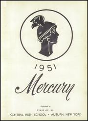 Page 7, 1951 Edition, Central High School - Mercury Yearbook (Auburn, NY) online yearbook collection