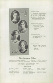 Page 12, 1923 Edition, Ontario High School - Echo Yearbook (Ontario, NY) online yearbook collection