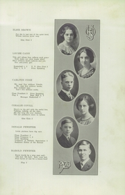 Page 9, 1923 Edition, Ontario High School - Echo Yearbook (Ontario, NY) online yearbook collection
