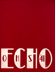 Page 1, 1941 Edition, Ontario High School - Echo Yearbook (Ontario, NY) online yearbook collection