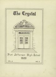 Page 9, 1929 Edition, Port Jefferson High School - Crystal Yearbook (Port Jefferson, NY) online yearbook collection