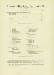 Page 15, 1938 Edition, Port Jefferson High School - Crystal Yearbook (Port Jefferson, NY) online yearbook collection