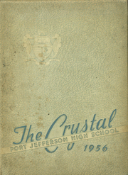 1956 Edition, Port Jefferson High School - Crystal Yearbook (Port Jefferson, NY)