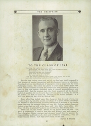 Page 8, 1947 Edition, Canaseraga High School - Chieftain Yearbook (Canaseraga, NY) online yearbook collection