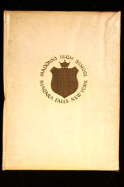 1964 Edition, Madonna High School - Madonna Yearbook (Niagara Falls, NY)