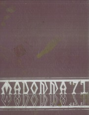 1971 Edition, Madonna High School - Madonna Yearbook (Niagara Falls, NY)