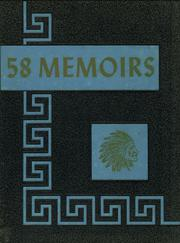 1958 Edition, Cherry Valley Central High School - Memoirs Yearbook (Cherry Valley, NY)