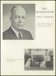 Page 11, 1957 Edition, Northwood School - Epitome Yearbook (Lake Placid, NY) online yearbook collection