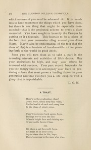 Page 10, 1899 Edition, Clemson University - Taps Yearbook (Clemson, SC) online yearbook collection