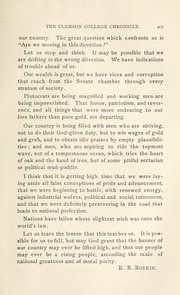 Page 13, 1899 Edition, Clemson University - Taps Yearbook (Clemson, SC) online yearbook collection