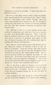 Page 15, 1899 Edition, Clemson University - Taps Yearbook (Clemson, SC) online yearbook collection