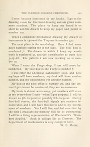 Page 17, 1899 Edition, Clemson University - Taps Yearbook (Clemson, SC) online yearbook collection