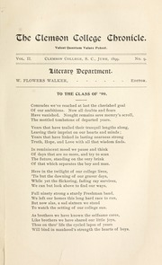 Page 7, 1899 Edition, Clemson University - Taps Yearbook (Clemson, SC) online yearbook collection