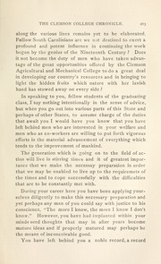 Page 9, 1899 Edition, Clemson University - Taps Yearbook (Clemson, SC) online yearbook collection