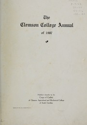 Page 7, 1907 Edition, Clemson University - Taps Yearbook (Clemson, SC) online yearbook collection