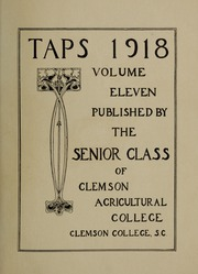 Page 7, 1918 Edition, Clemson University - Taps Yearbook (Clemson, SC) online yearbook collection