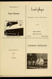 Page 551, 1965 Edition, Clemson University - Taps Yearbook (Clemson, SC) online yearbook collection