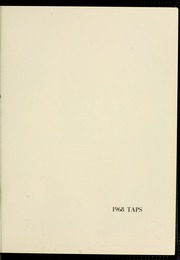 Page 5, 1968 Edition, Clemson University - Taps Yearbook (Clemson, SC) online yearbook collection