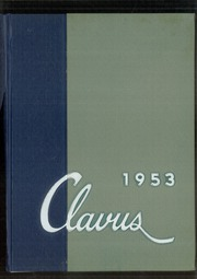 1953 Edition, Allendale Columbia High School - Clavus Yearbook (Rochester, NY)