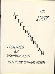 Page 7, 1957 Edition, Jefferson Central High School - Jeffersonian Yearbook (Jefferson, NY) online yearbook collection