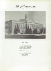 Page 5, 1959 Edition, Jefferson Central High School - Jeffersonian Yearbook (Jefferson, NY) online yearbook collection