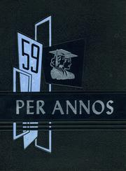 1959 Edition, East Syracuse High School - Per Annos Yearbook (East Syracuse, NY)