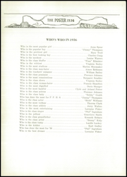 Page 16, 1936 Edition, Painted Post High School - Poster Yearbook (Painted Post, NY) online yearbook collection