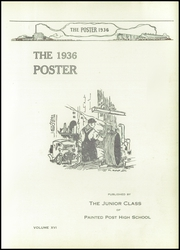 Page 5, 1936 Edition, Painted Post High School - Poster Yearbook (Painted Post, NY) online yearbook collection