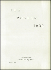 Page 7, 1939 Edition, Painted Post High School - Poster Yearbook (Painted Post, NY) online yearbook collection