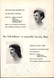 Page 11, 1954 Edition, Bishop OHern High School - Vistas Yearbook (Buffalo, NY) online yearbook collection