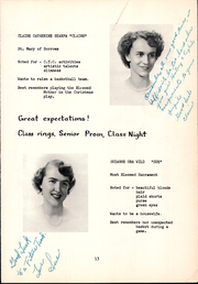 Page 17, 1954 Edition, Bishop OHern High School - Vistas Yearbook (Buffalo, NY) online yearbook collection
