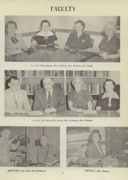 Page 9, 1952 Edition, Whitesville High School - Wycenian Yearbook (Whitesville, NY) online yearbook collection