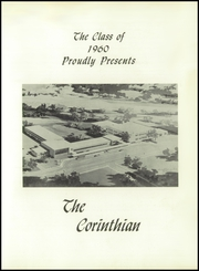 Page 5, 1960 Edition, Corinth High School - Corinthian Yearbook (Corinth, NY) online yearbook collection