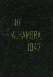 1947 Edition, Washington Irving High School - Alhambra Yearbook (Tarrytown, NY)