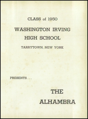 Page 5, 1950 Edition, Washington Irving High School - Alhambra Yearbook (Tarrytown, NY) online yearbook collection