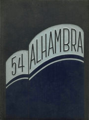 1954 Edition, Washington Irving High School - Alhambra Yearbook (Tarrytown, NY)