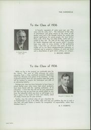 Page 14, 1936 Edition, Fosdick Masten Park High School - Chronicle Yearbook (Buffalo, NY) online yearbook collection