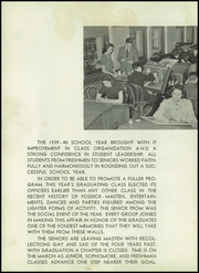Page 12, 1940 Edition, Fosdick Masten Park High School - Chronicle Yearbook (Buffalo, NY) online yearbook collection